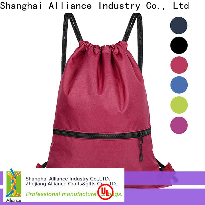 Alliance excellent drawstring bags factory for girls