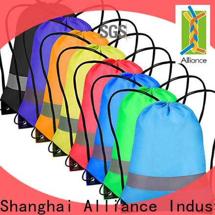 Alliance drawstring backpack factory for student