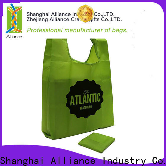 Alliance excellent foldable shopping bag design for mall