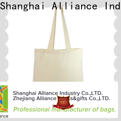 Alliance canvas tote bags series for shopping