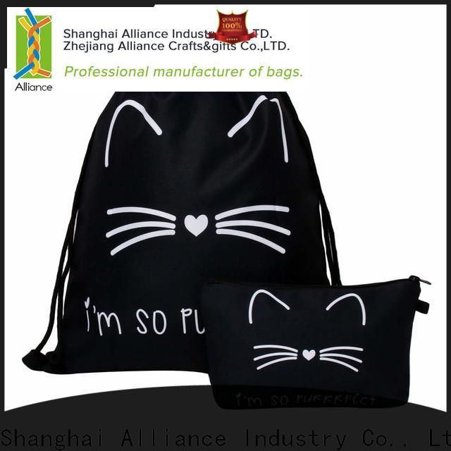 Alliance elegant drawstring pouch factory for girls