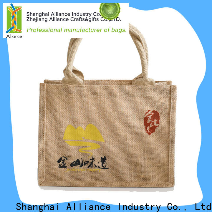 Alliance personalized tote bags manufacturer for grocery