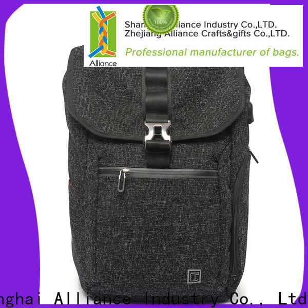 Alliance brown bulk backpacks with good price for hiking