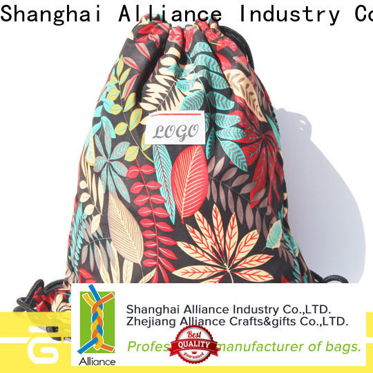 Alliance hiking drawstring pouch factory for sport