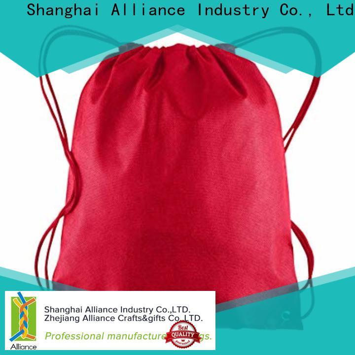 Alliance drawstring pouch with good price for student