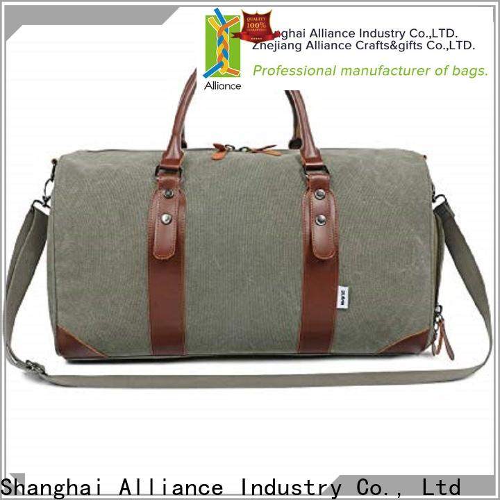Alliance carry on duffel bag customized for outdoor