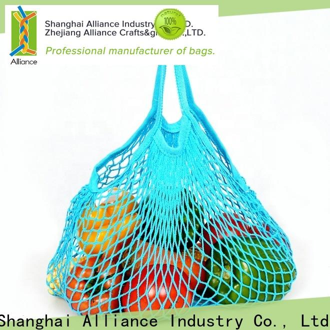 Alliance extra large mesh laundry bags supplier for beach