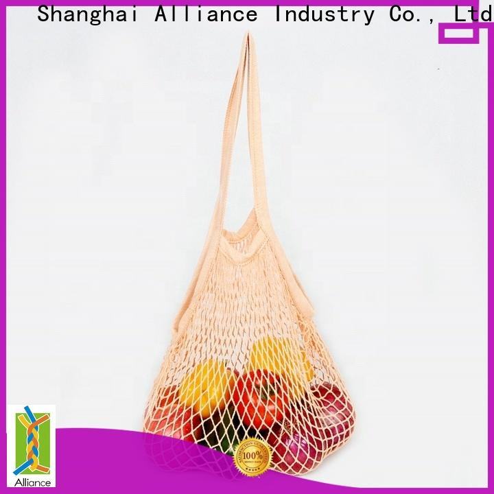 Alliance extra large mesh laundry bags factory price for beach
