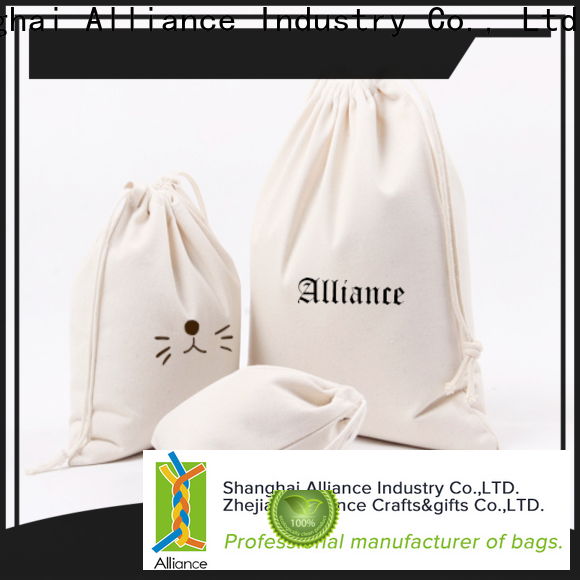 Alliance drawstring backpack factory for girls