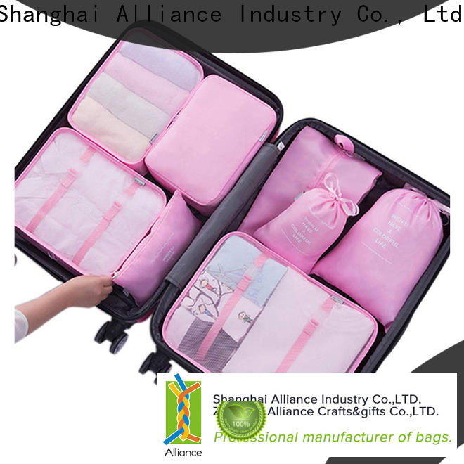 Alliance waterproof travel organizer with good price for clothes