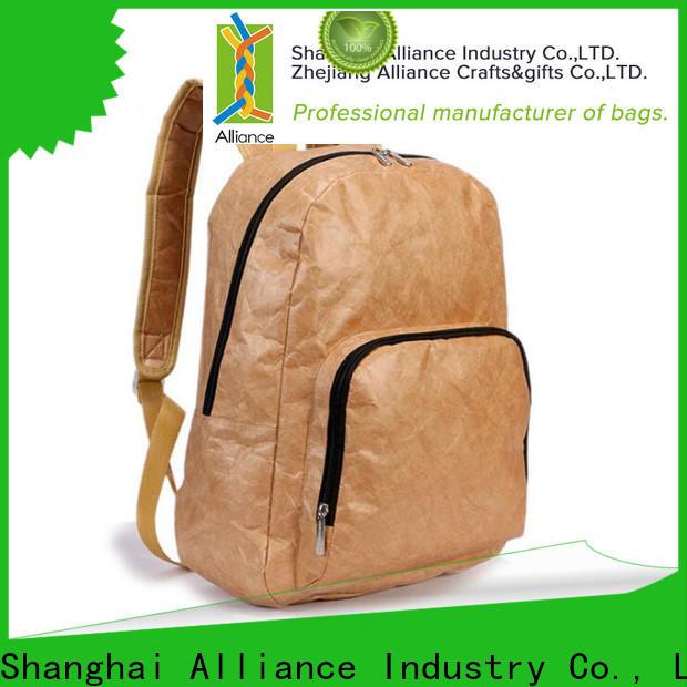 Alliance custom backpacks factory for men