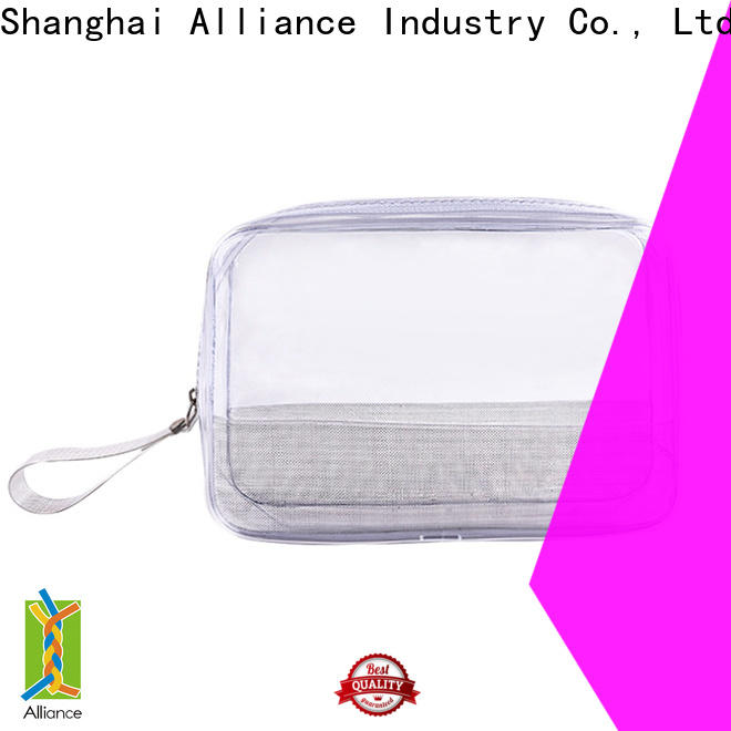 natural cosmetic bags wholesale for tirp