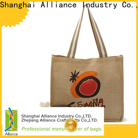 Alliance cotton cotton tote bags manufacturer for women