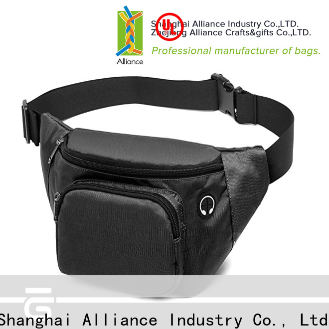 Alliance waterproof waist bag wholesale for gym