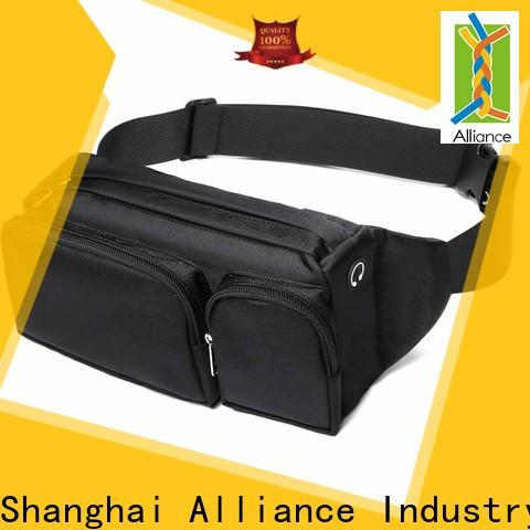 adjustable mens waist bag factory price for travel