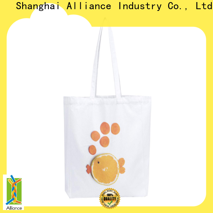 Alliance quality canvas tote bags series for shopping