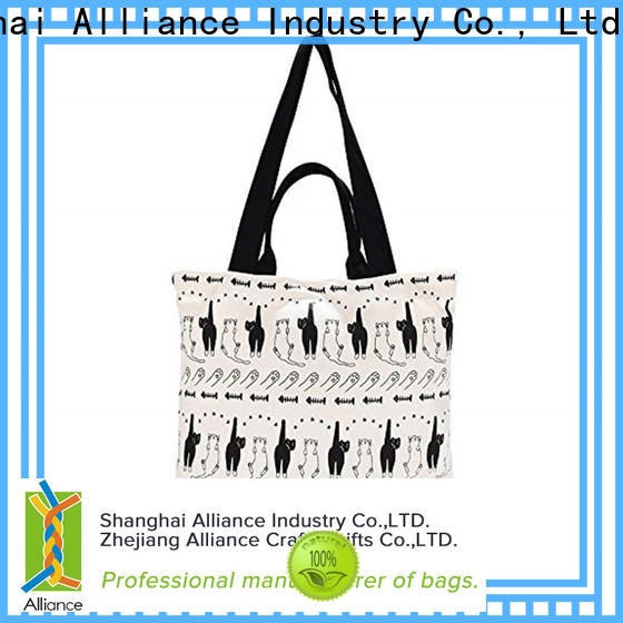 Alliance cotton bag customized for grocery