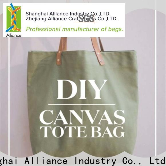 Alliance large tote bags customized for books