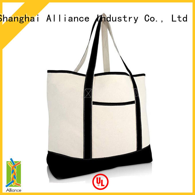 cotton canvas tote bags customized for women