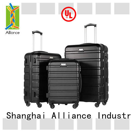 Alliance certificated hard shell carry on luggage factory price for travel