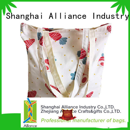 Alliance canvas tote bags directly sale for women