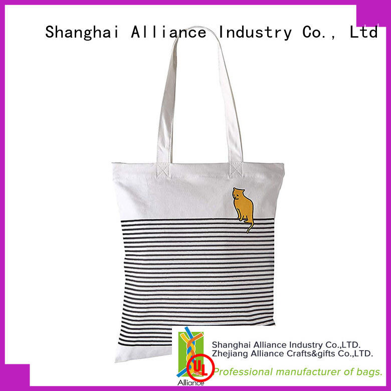 Alliance reusable cotton bag directly sale for books