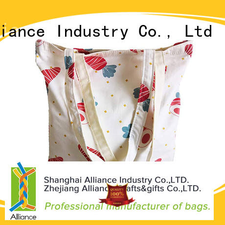 Alliance durable cotton bag directly sale for grocery