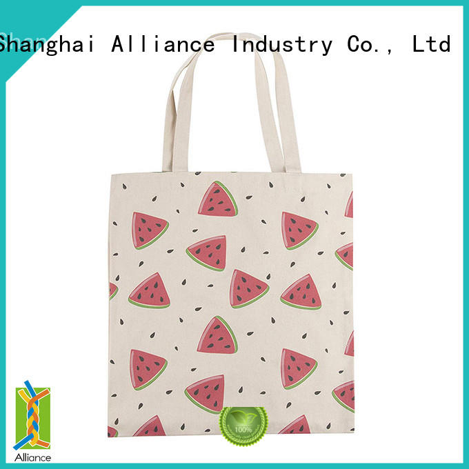 Alliance reusable personalized tote bags from China for women