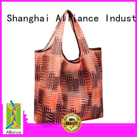 Alliance approved folding shopping bags with good price for mall