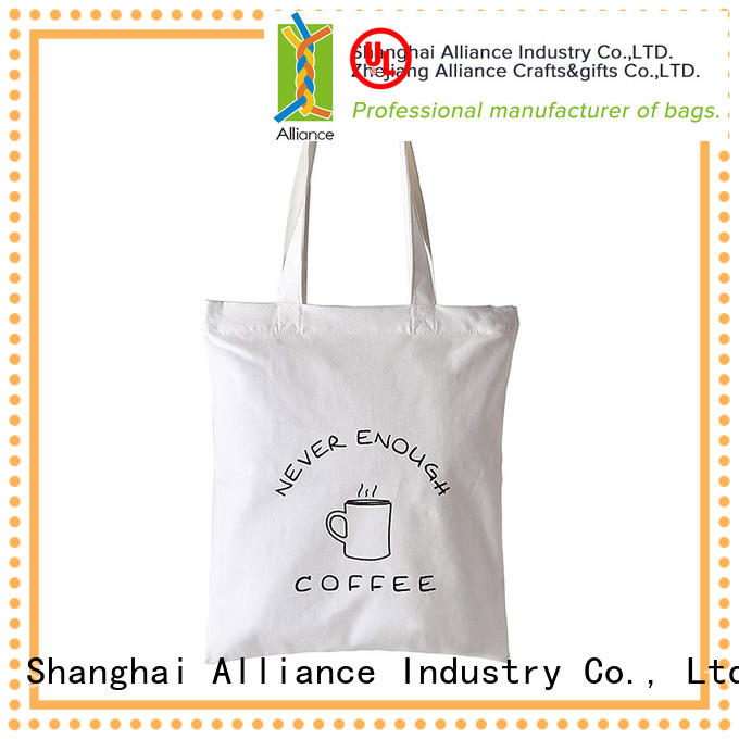 Alliance quality cotton tote bags directly sale for grocery