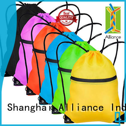 Alliance excellent drawstring bags with good price for children