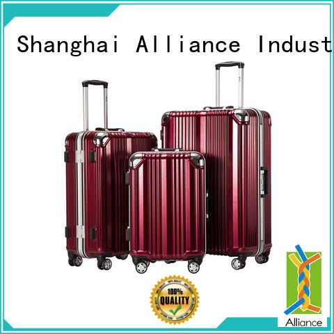 quality hard shell luggage factory price for tirp