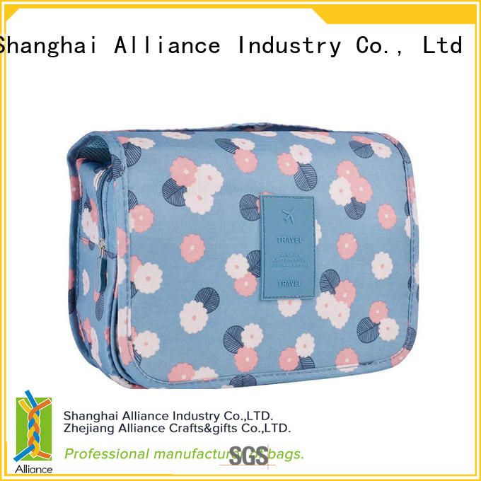 Alliance cosmetic bags factory price for outdoor