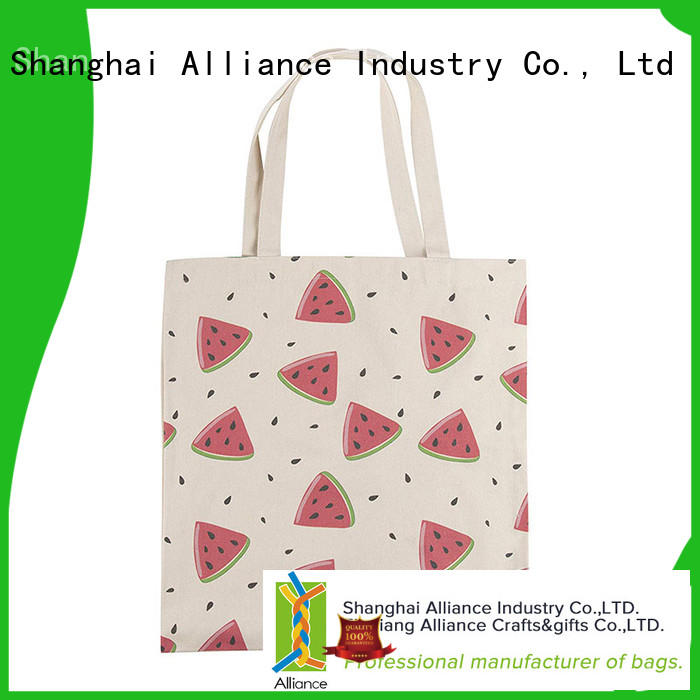 Alliance personalized tote bags from China for women