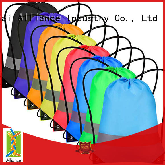 Alliance hiking drawstring pouch factory for girls