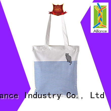 Alliance durable cotton tote bags directly sale for women