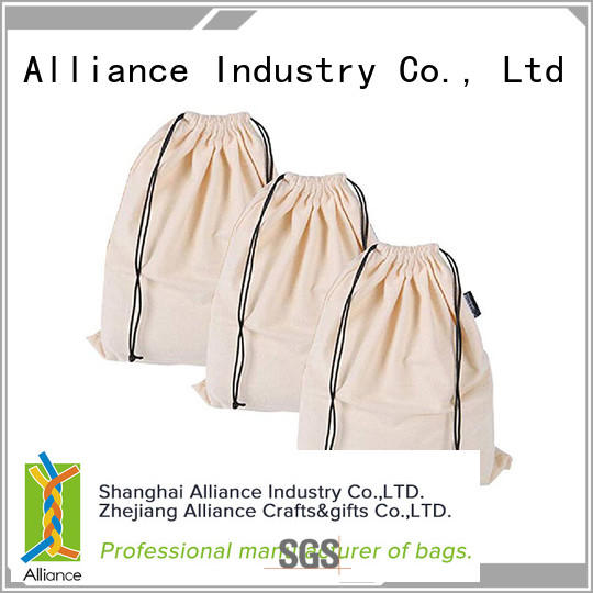 Alliance cotton tote bags customized for grocery