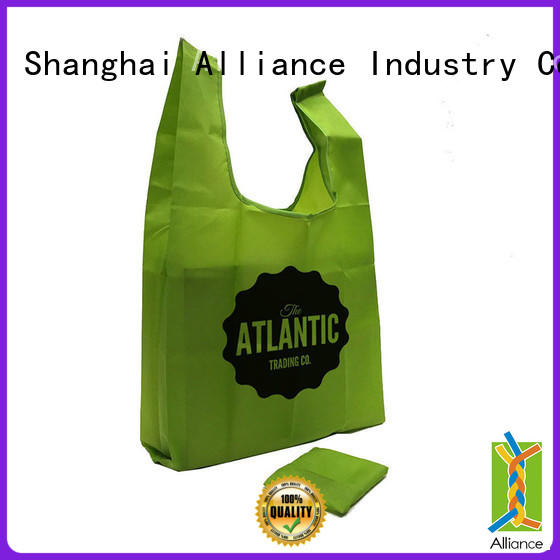 Alliance nylon folding shopping bags factory for mall